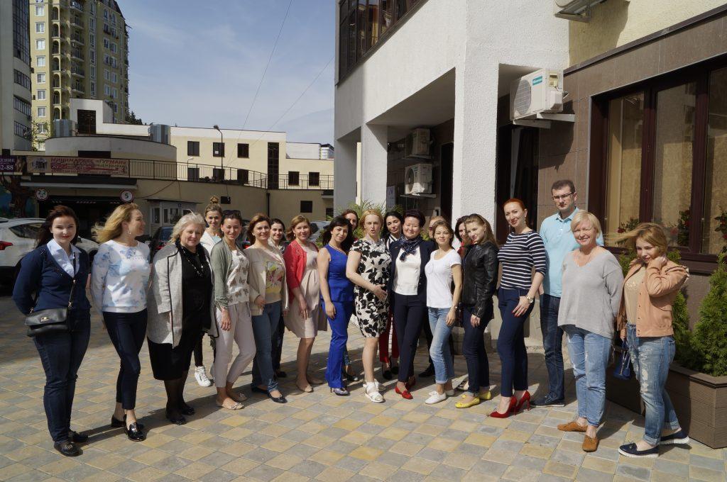 Семинар в Сочи с профессором Юцковской Я.А. апрель 2016